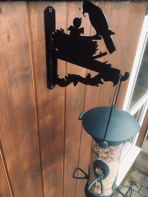 Hanging Basket/Bird Feeder Bracket