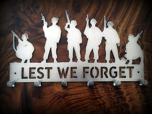 Lest we forget Coat Rack