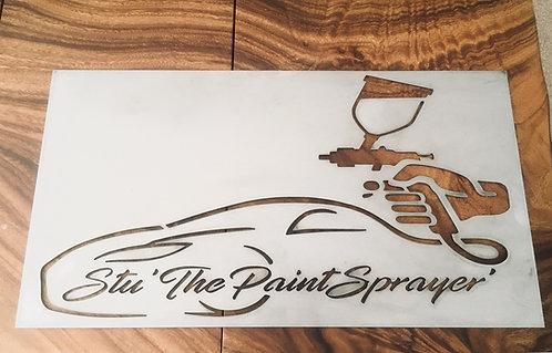 Stu The Paint Sprayer
