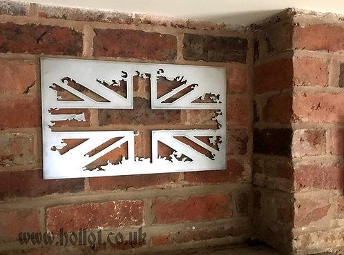 British Flag - grunge
