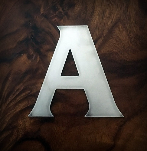 A-Z Letters & Numbers (bold)