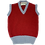 Thumbnail: Child's Cherry tank top with sky trim