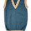 Thumbnail: Child's Cerulean tank top with sand trim