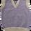 Thumbnail: Child's Lavender tank top with dove trim