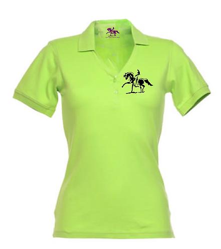Ladies Polo SPECIAL lemongreen