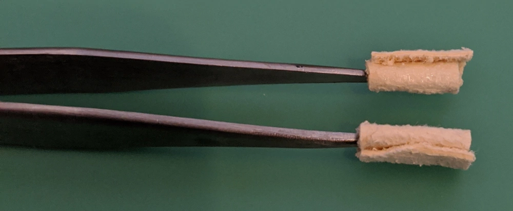 Your homemade Mainspring Oiling Tweezers