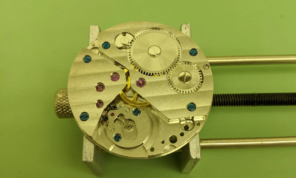 Removal of Gear Train (1)
