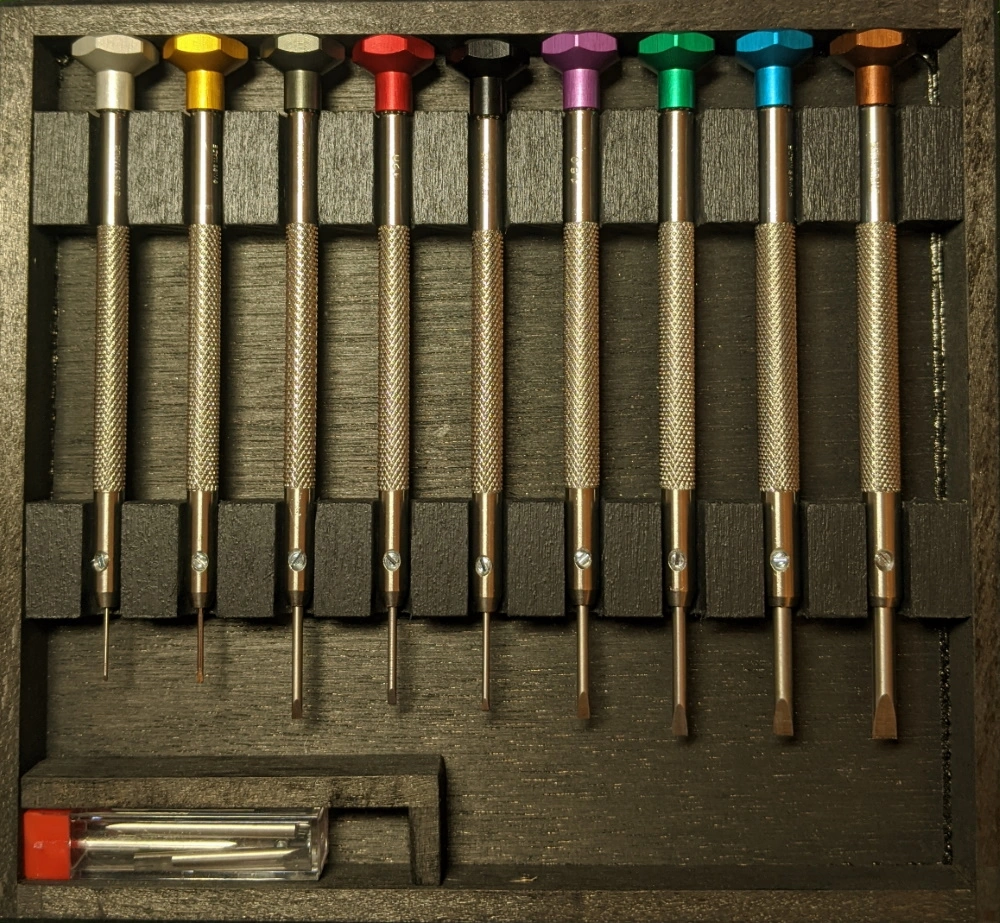 Precision Horotec Screwdrivers