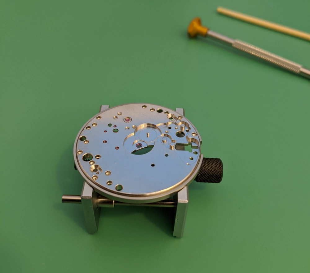 Main Plate - Dial Side