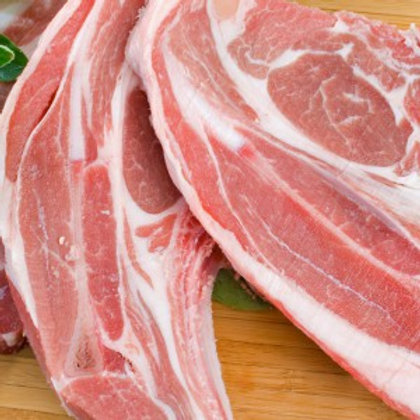 Organic Lamb Forequarter Chops - 500g