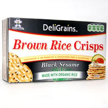 Deli Grains Brown Rice Crackers