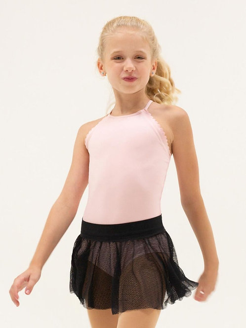 Capezio Divine Dancer Scallop Camisole Leotard