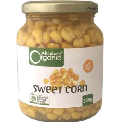 Organic Sweet Corn - Jar