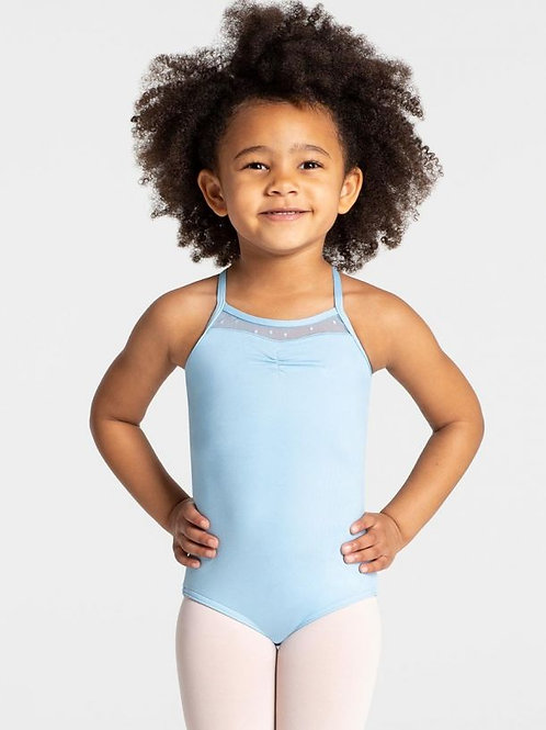 Capezio Swiss Dot Cross Back Tank Leotard