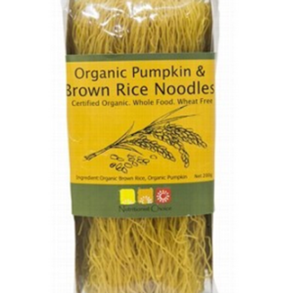 Organic Pumpkin & Brown Rice Noodles - 200g