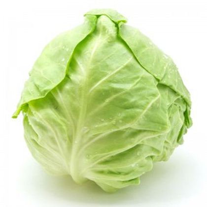 Organic Whole Green Cabbage