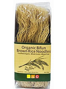 Organic Bifun & Brown Rice Noodles - 200g