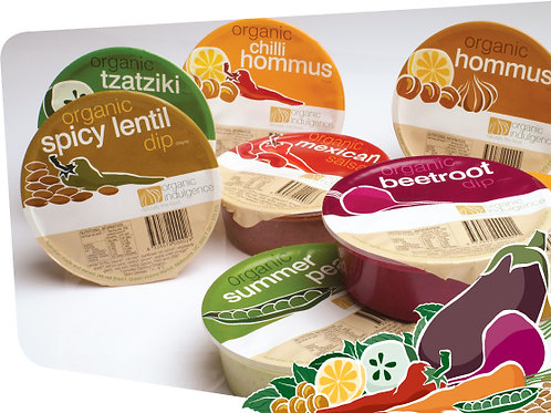 Organic Indulgence Dip Selection