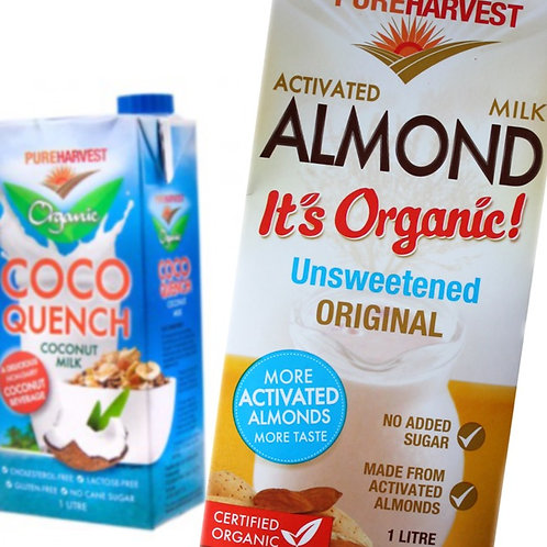 Pure Harvest Milk Alternatives