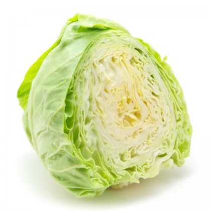 Half Organic Green Cabbage