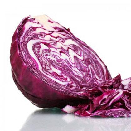 Half Organic Red Cabbage