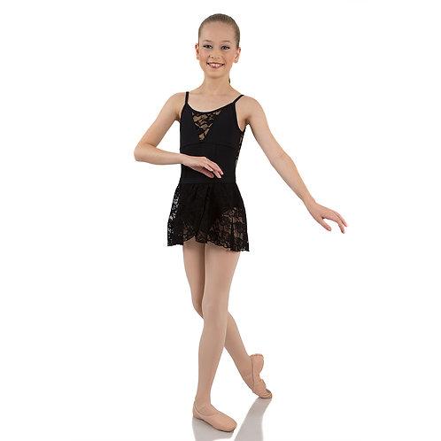Energetiks Mock Wrap Lace Skirt