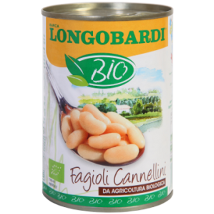 Canned Cannellini Beans – 400g – Organic