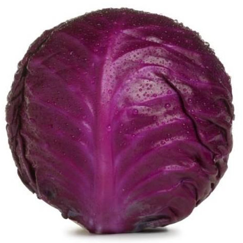 Organic Whole Red Cabbage
