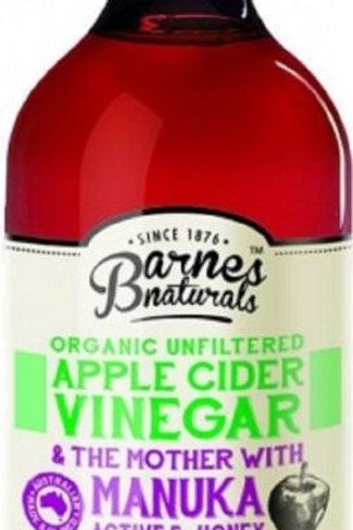 Barnes Organic Vinegar Range