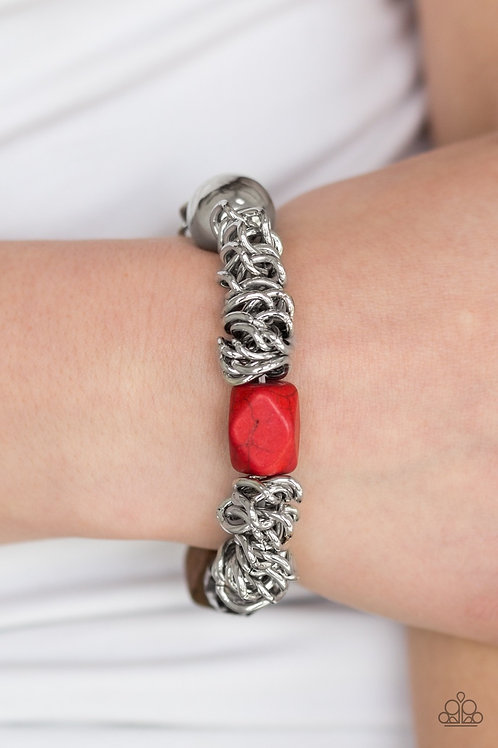 Mesmerizingly Magmatic -Red