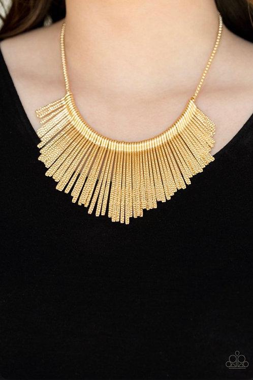 Metallic Mane -  Gold - Paparazzi