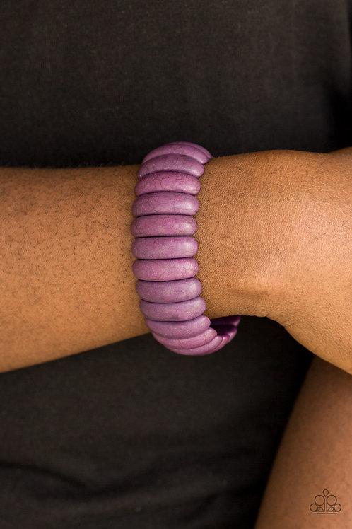 Peacefully Primal - Purple
