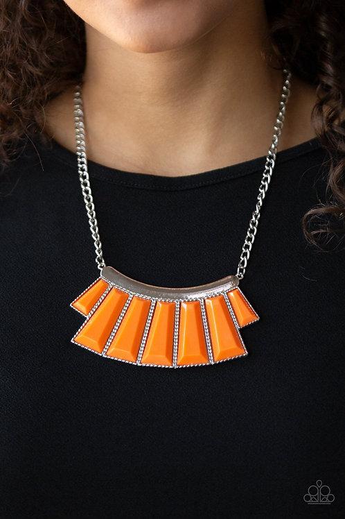 Glamour Goddess - Orange - Paparazzi