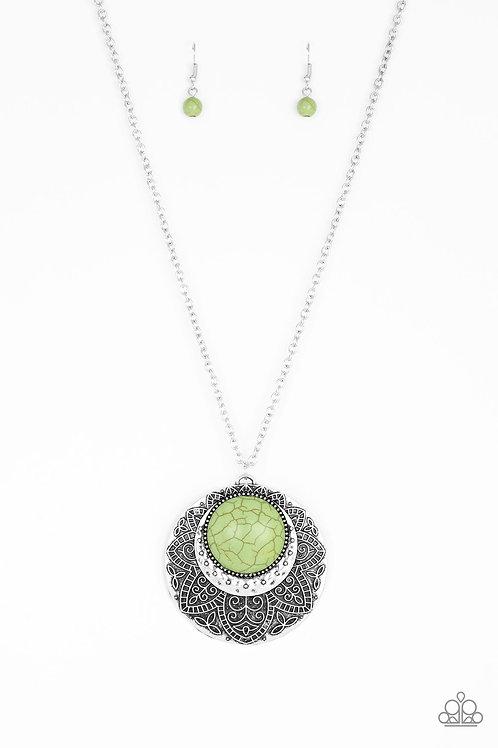 Medallion Meadow - Green