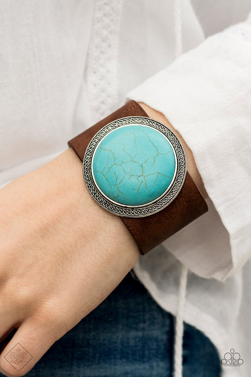 Wander On Repeat - Turquoise Bracelet