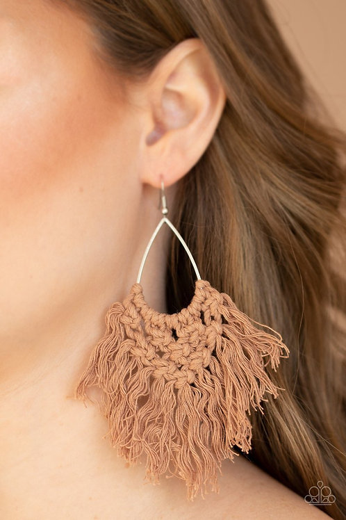 Oh MACRAME, Oh My - Brown - Paparazzi