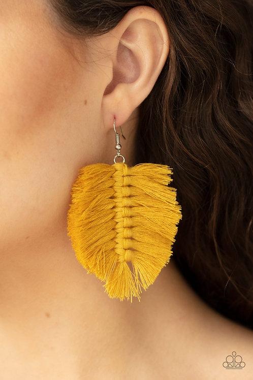 Knotted Native - Yellow - Paparazzi