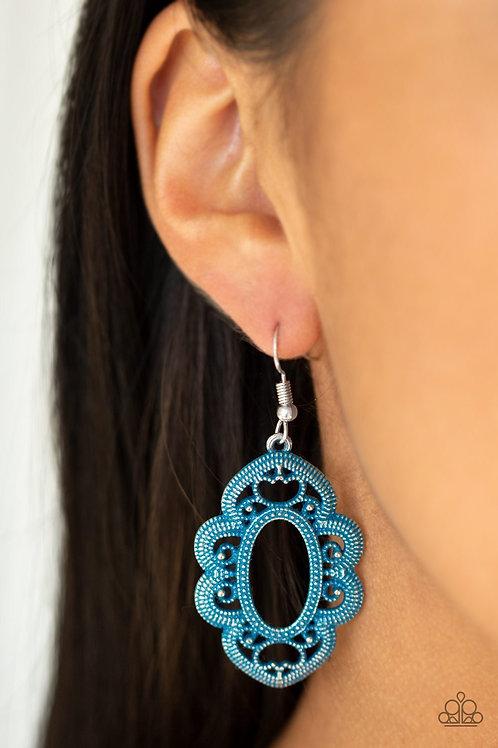 Mantras and Mandalas - Blue