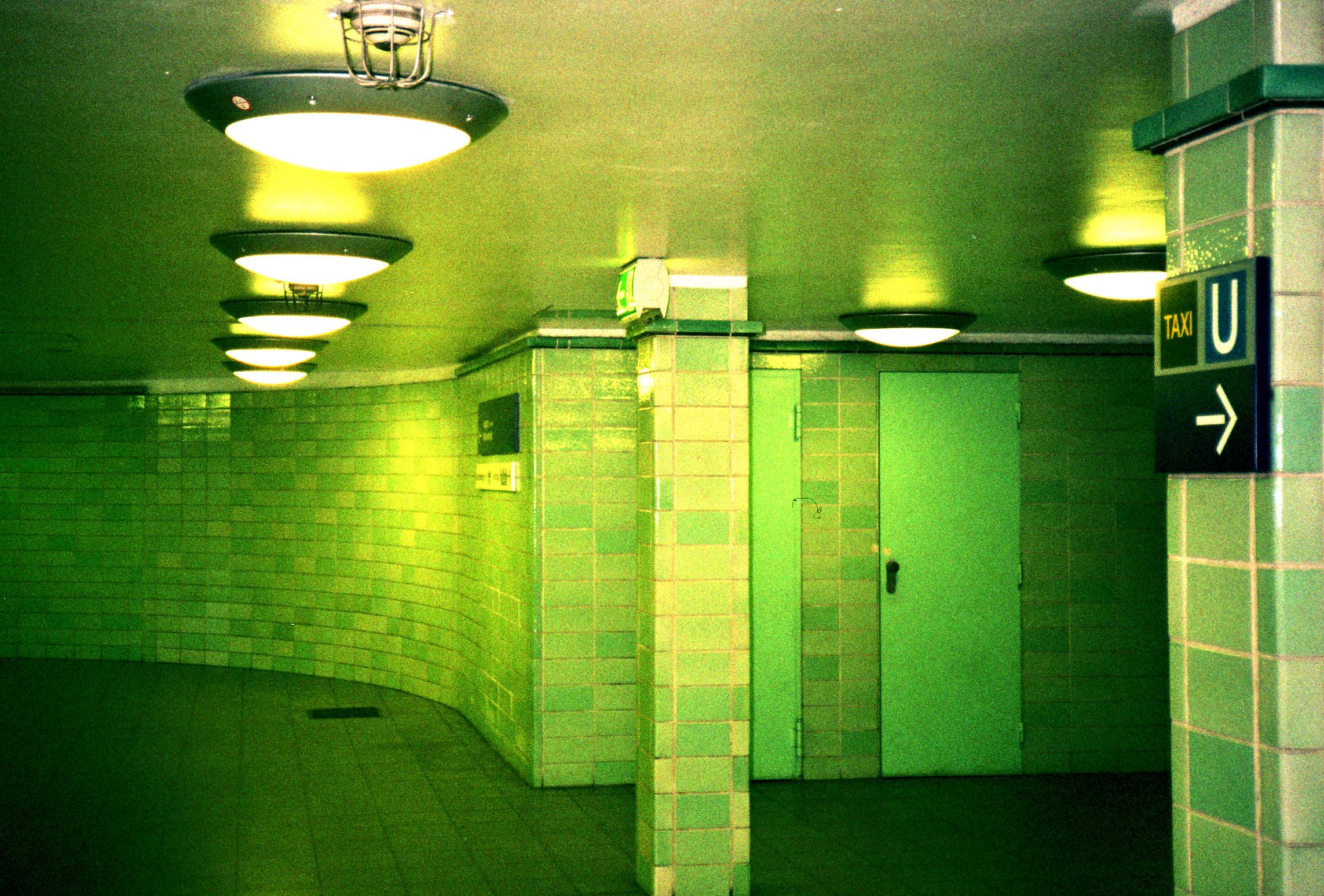 Grüne Ubahn