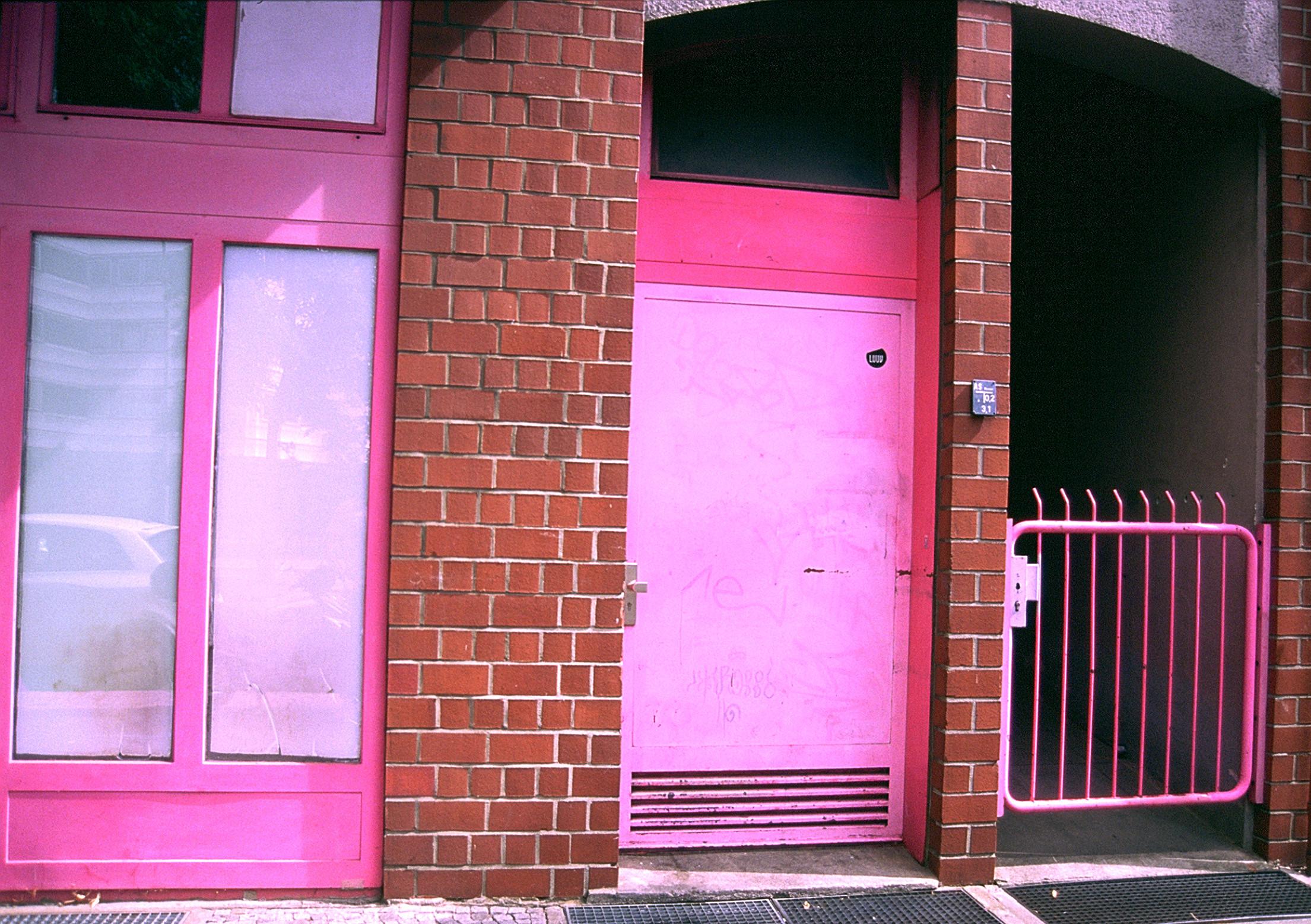 Pink Doors,