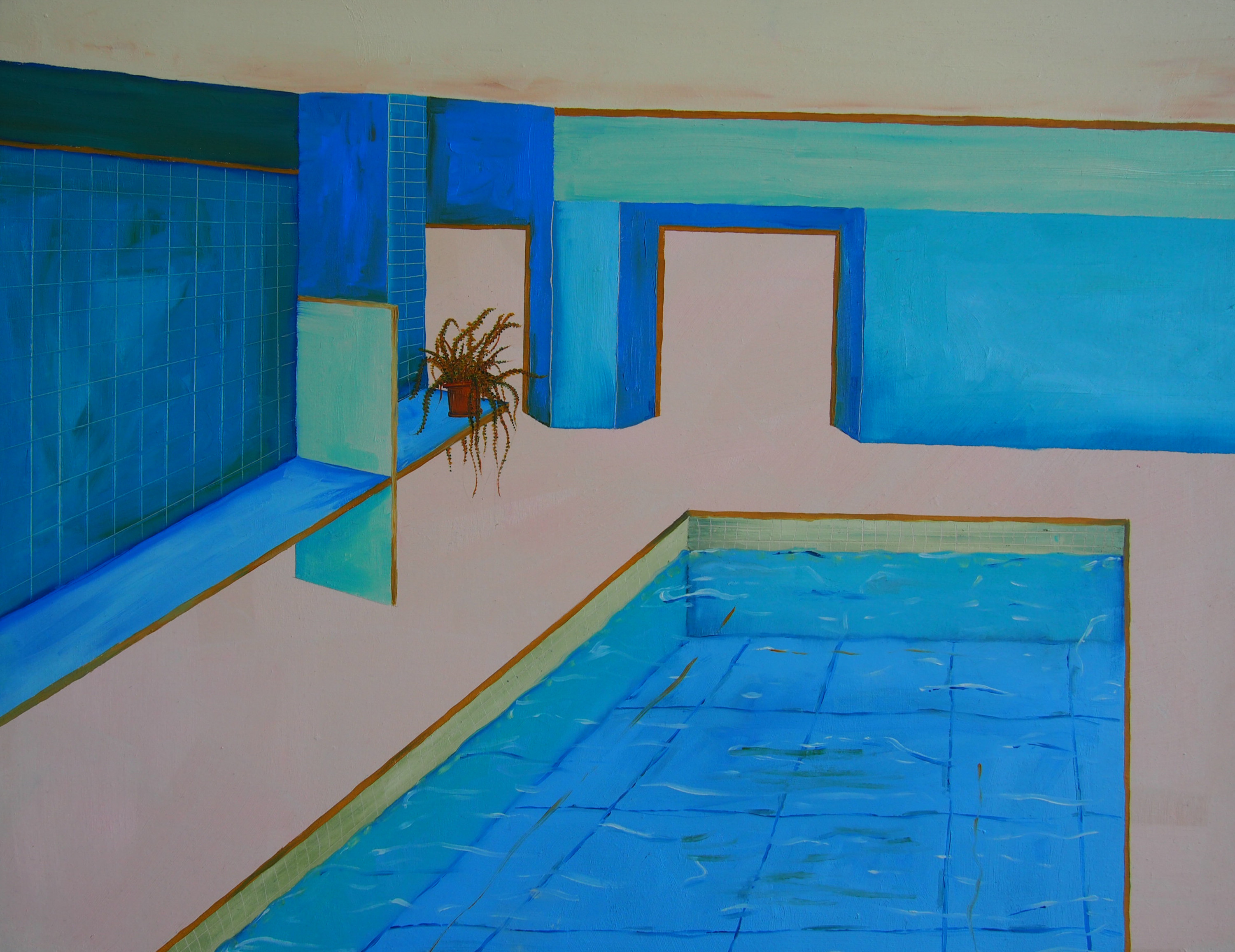 Indoor Pool, 2017.