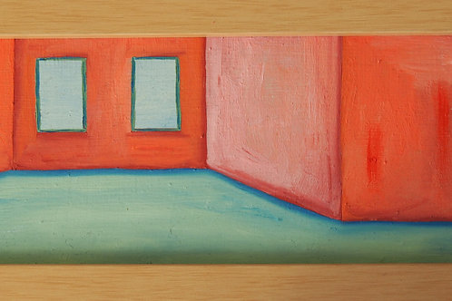 Small Room, Oil Painting
