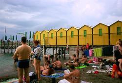 Sorrento Beach, Italy.