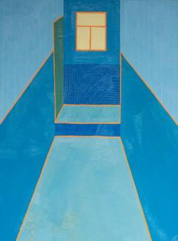 Blue Bathroom, 2021