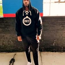 UNITE lace hoodie