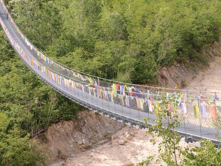 De la Suisse au Bhoutan il n'y a qu'un pas !