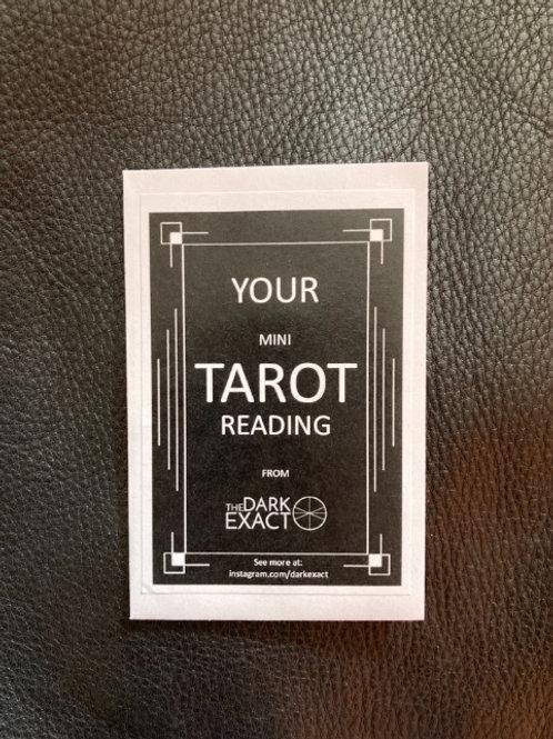 Your Mini Tarot Reading - 10 Pack