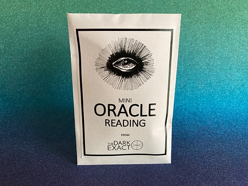 Mini Oracle Reading - 10 Pack