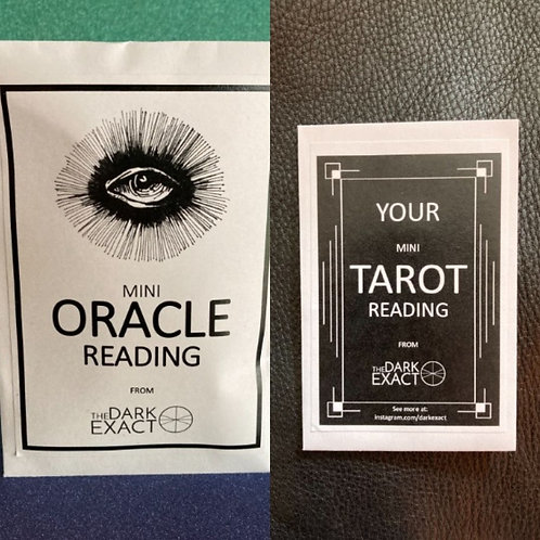 10 Pack - Surprise Oracle / Tarot Reading