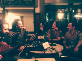 Invitados en el programa de radio Etertango - Café Central Madrid